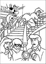 Kolorowanki Dla Dzieci Scooby Doo Drukuj 1