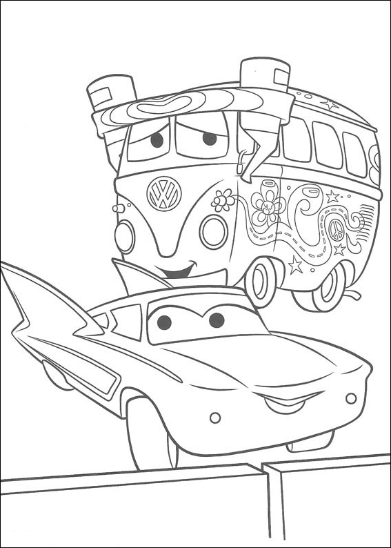Kolorowanki Dla Dzieci Auta 3