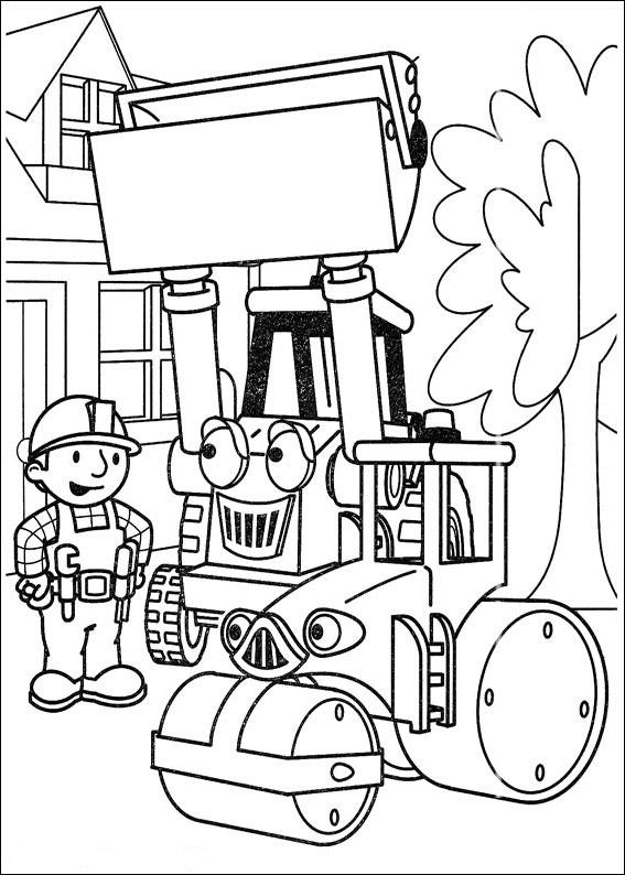 Kolorowanki Dla Dzieci Bob Budowniczy Zaprasza Do Zabawy Nr 165