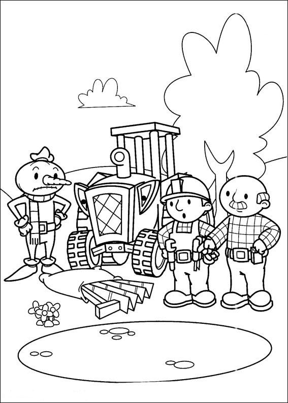 Kolorowanki Dla Dzieci Bob Budowniczy Zaprasza Do Zabawy Nr 170