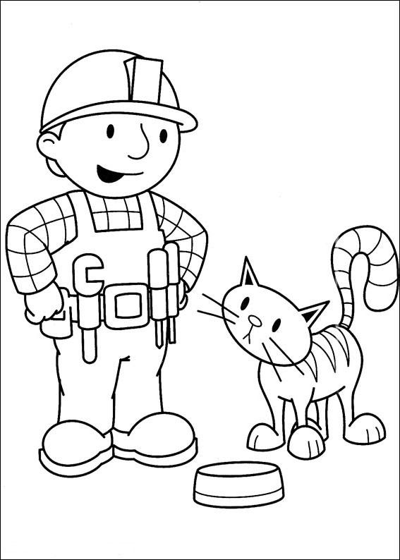 Kolorowanki Dla Dzieci Bob Budowniczy Zaprasza Do Zabawy Nr 172