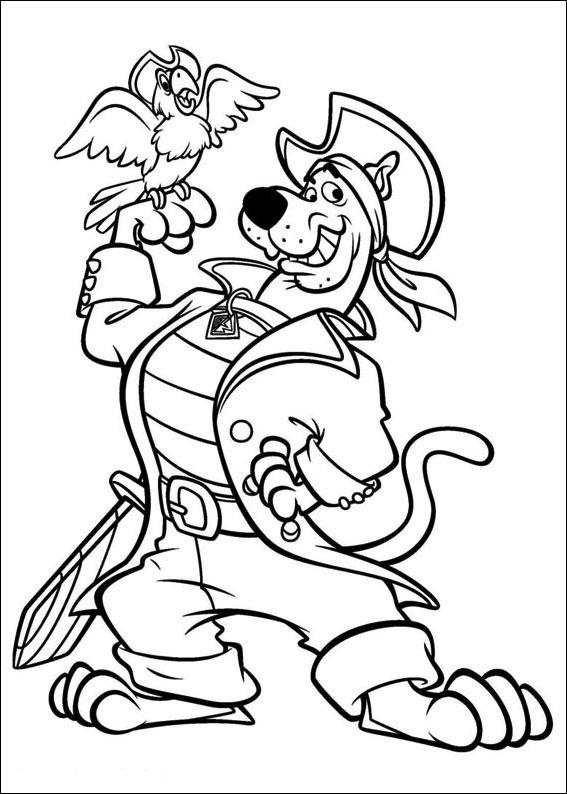 Kolorowanki Dla Dzieci Scooby Doo I Jego Przyjaciele 581